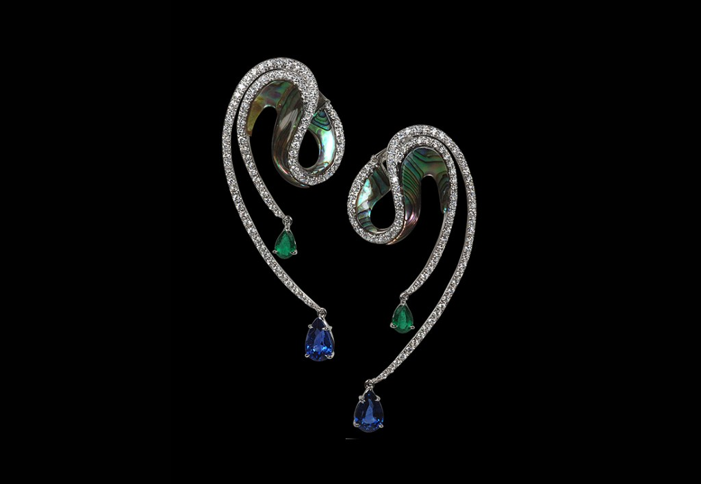 Kavant&Sharart Abalone Earrings