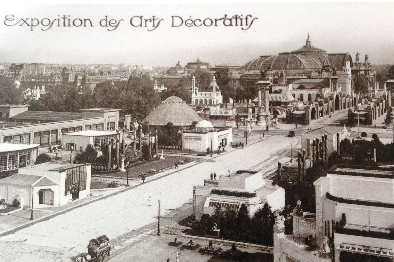 The 1925 Exposition Internationale des Arts Décoratifs in Paris is credited as being the birthplace of the Art Deco movement