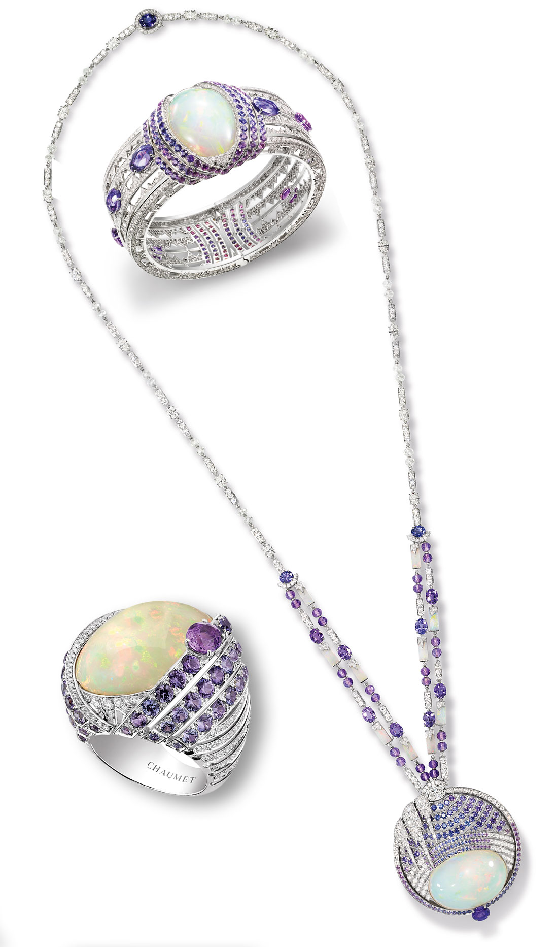Chaumet Opal Pieces from Lumieres D