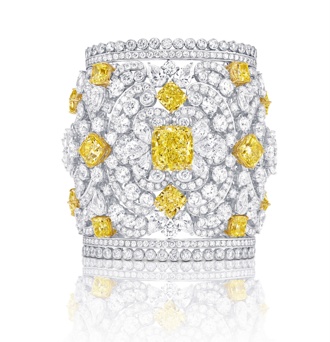 Graff-white-yellow-diamond-cuff