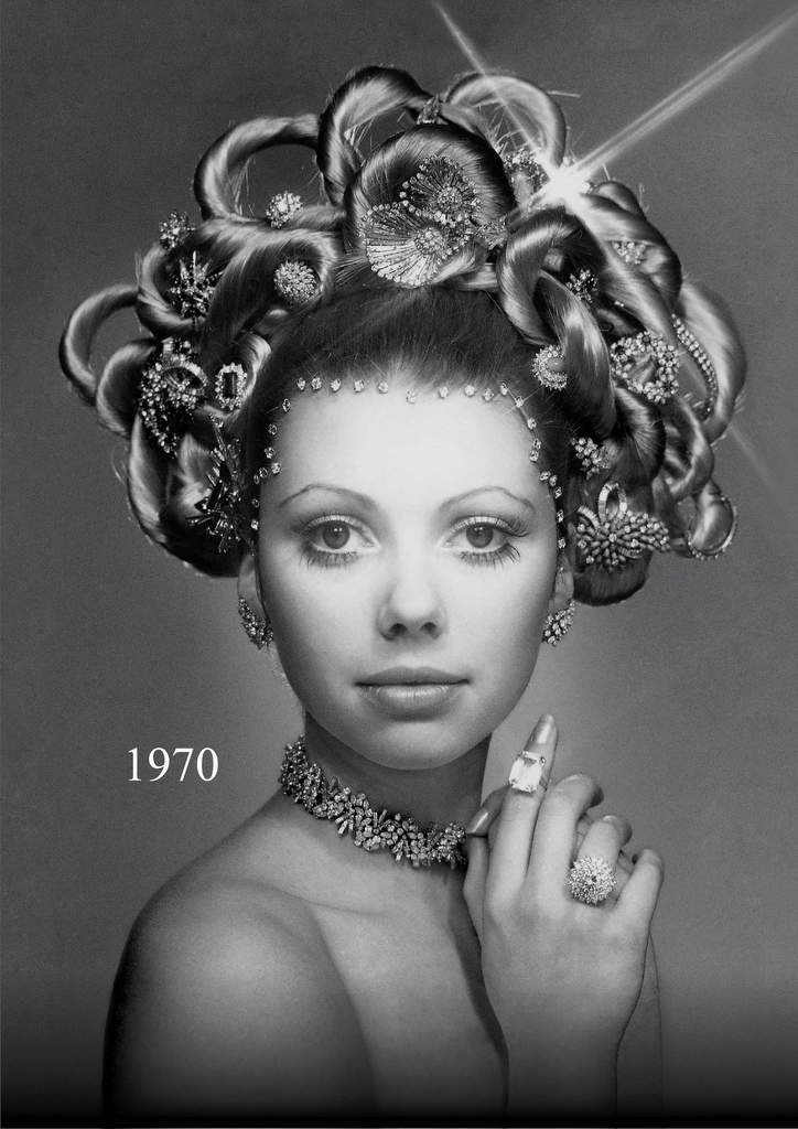 The re-creation of Hair & Jewel comparison 1970