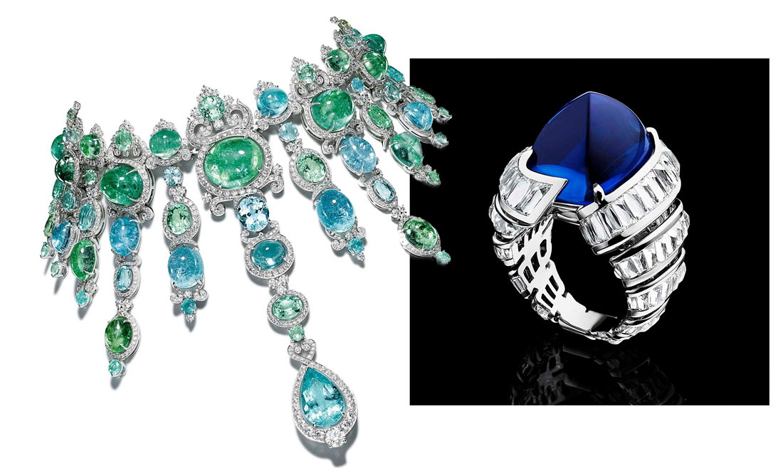 Best Gemstone Jewellery of the Biennale des Antiquaires