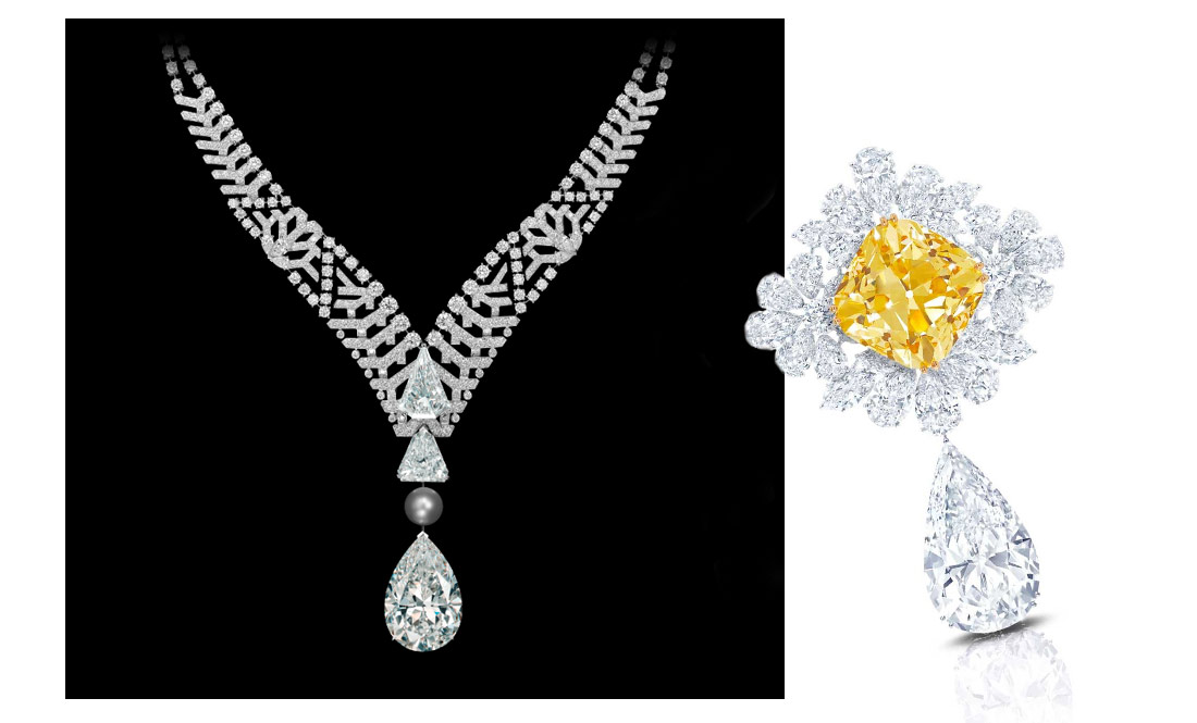 Best Diamond Jewellery of the Biennale des Antiquaires