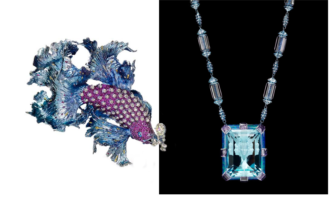 Most Innovative jewellery at the Biennale des Antiquaires