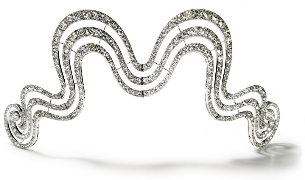 Cartier Paris tiara 1902 On Show At The Cartier Style and History Exhibition