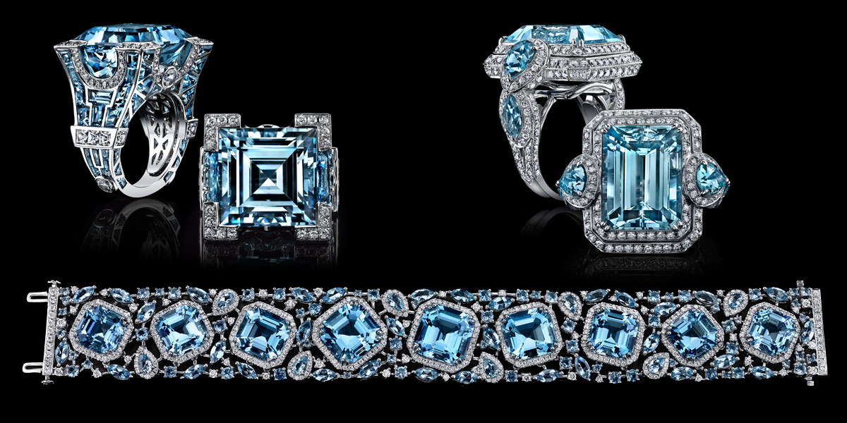 c36906944f989b Robert Procop jewellery with topaz, aquamarines and diamonds from the  Parisian Collection