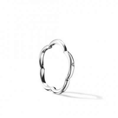 Mont Blanc white gold ring