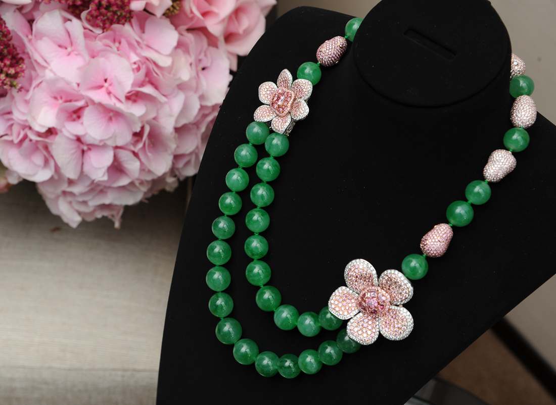 The Argyle Empress Necklace by Chow Tai Fook