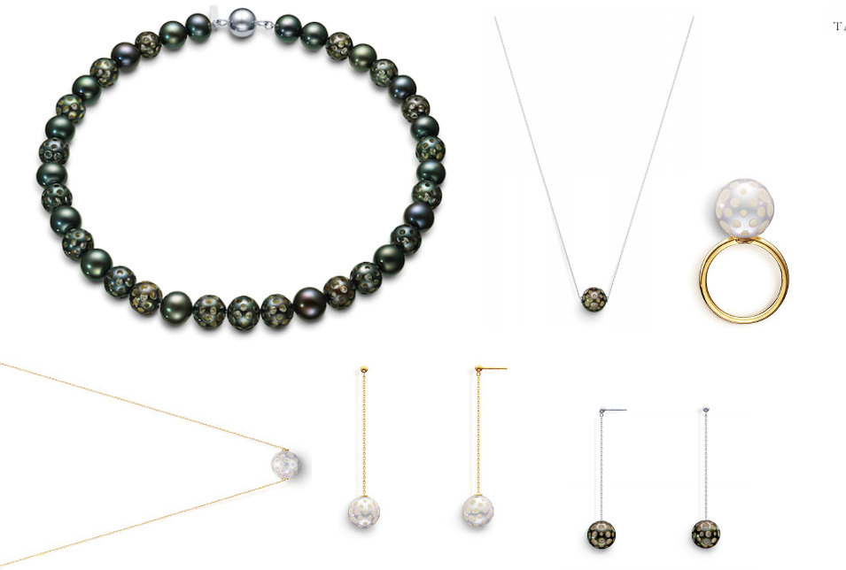 Melanie Georgacopoulos drilled pearl collection
