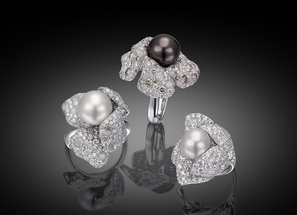 Palmiero Captured Pearls