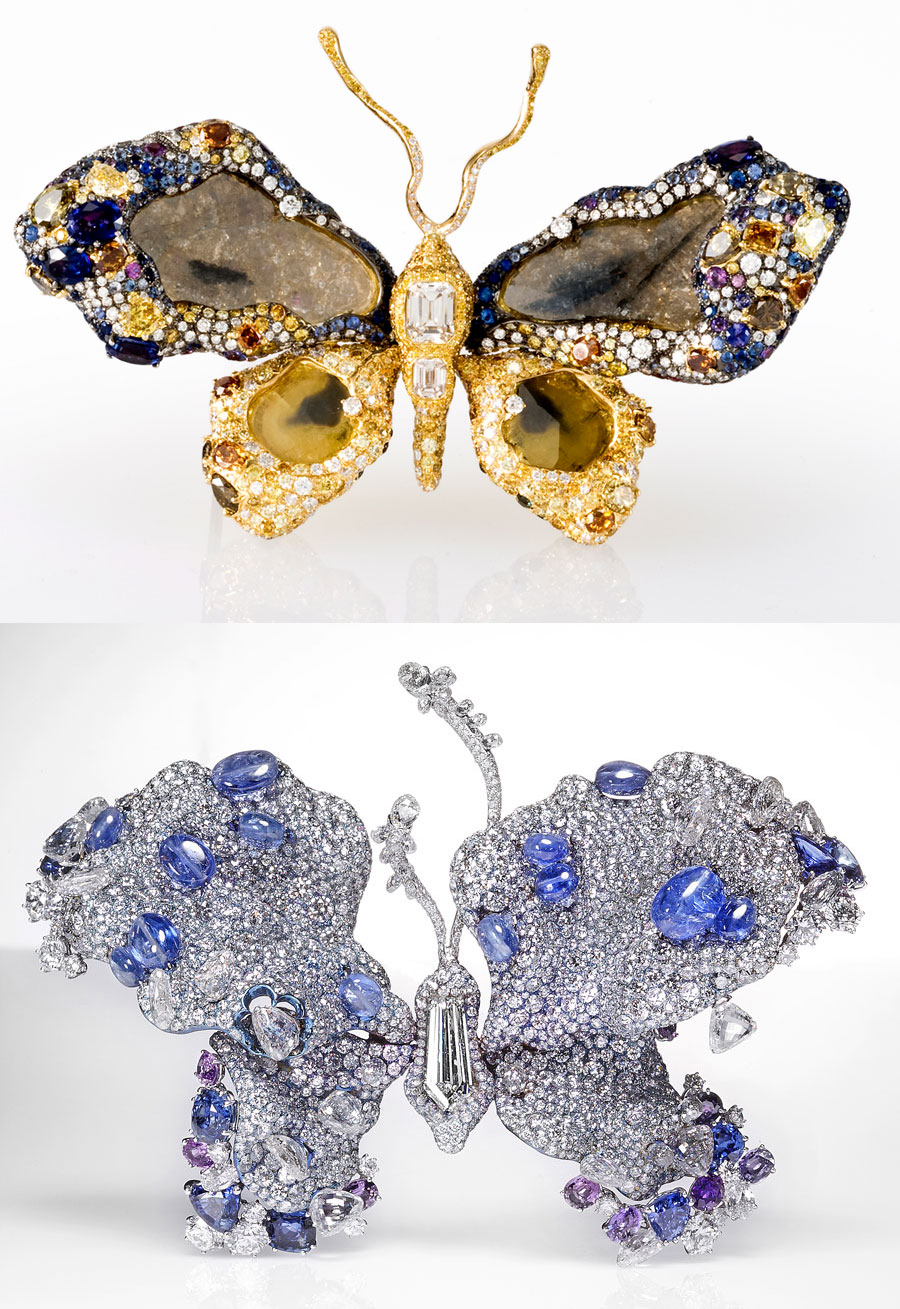 Cindy Chao Betterfly brooches