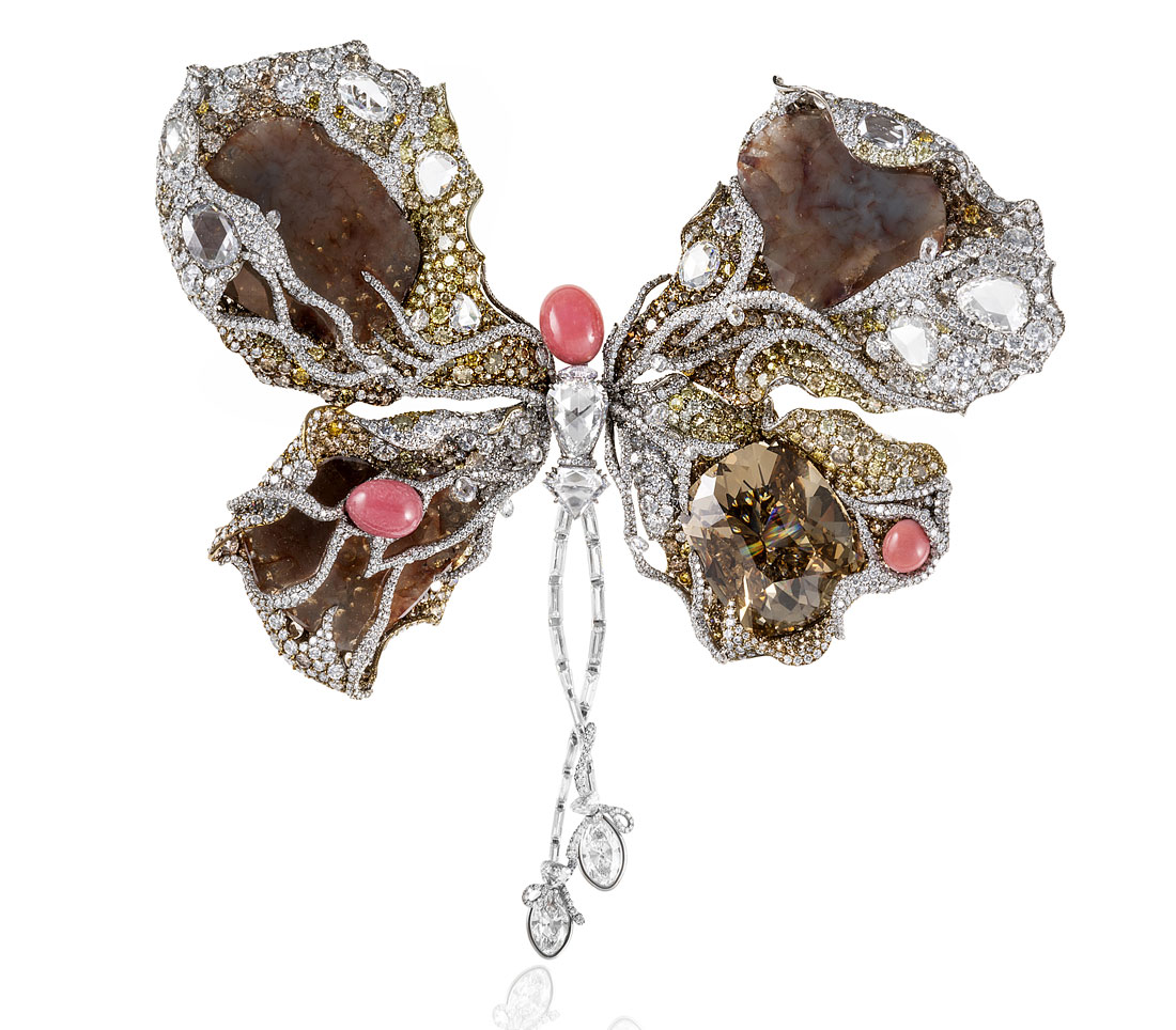 Cindy Chao Ballerina Butterfly Brooch
