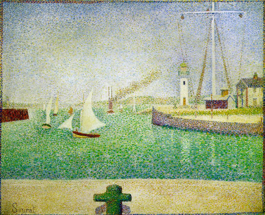 Port of Honfleur - Georges Seurat Bangle