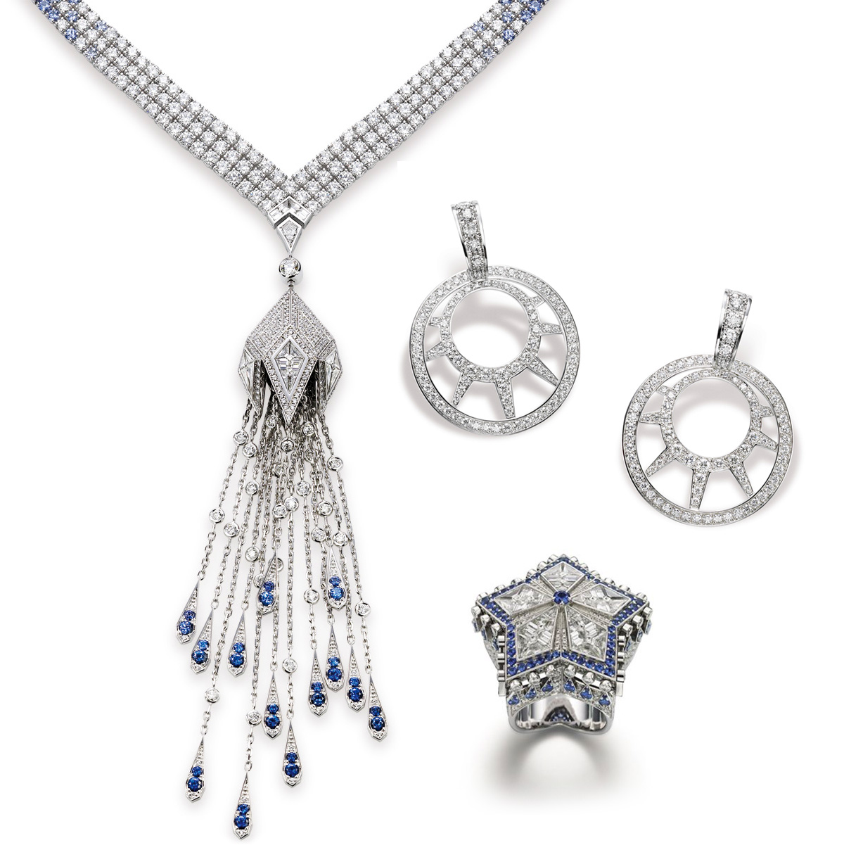 A few pieces from Piaget Limelight New-York Paris collection