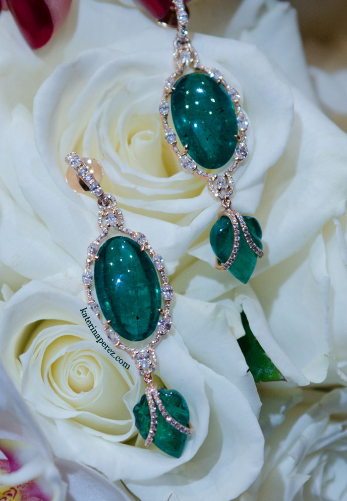 Inbar Jewellery Emerald earrings