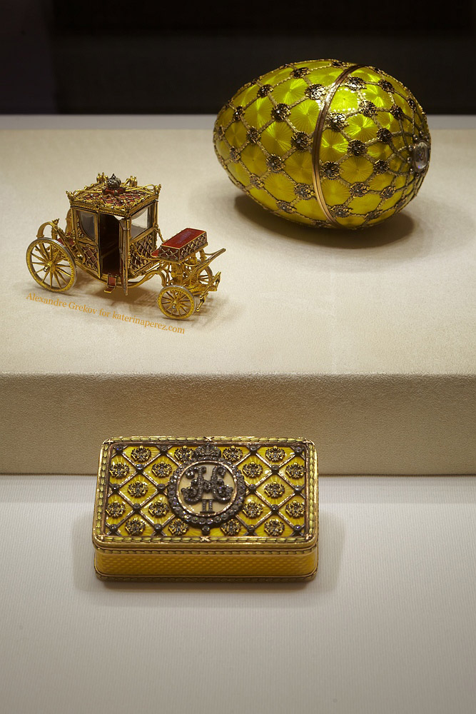 "Faberge ""Coronation"" egg made in 1897 for Empress Alexandra Feodorovna"