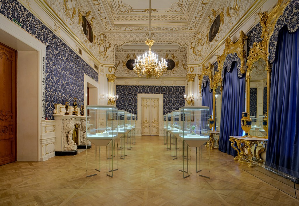 Faberge-Museum-Blue-Gallery шуваловский дворец музей фаберже