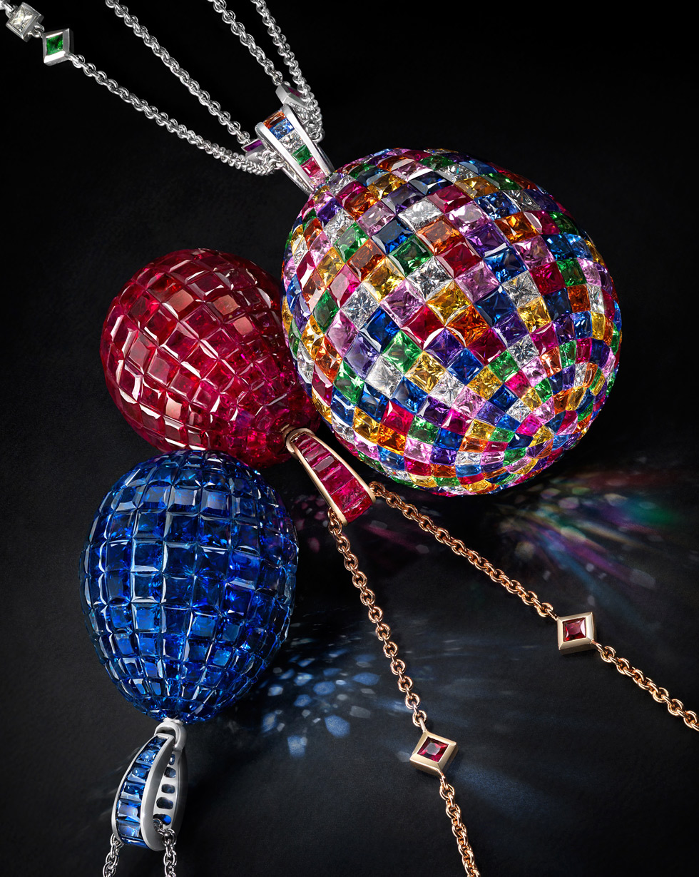 Faberge's glittering new pieces - Mosaic Pendants