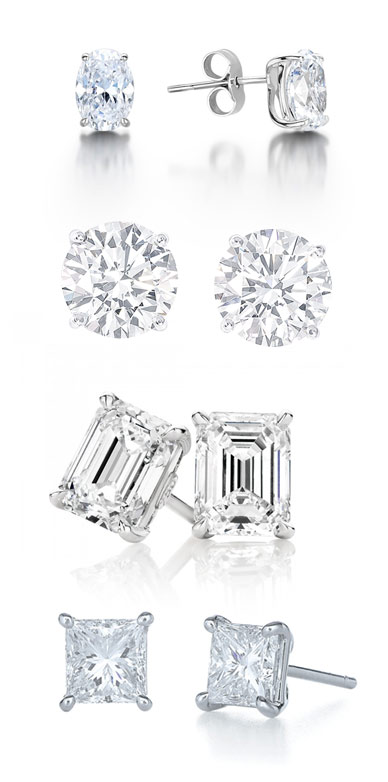 various-diamond-studs