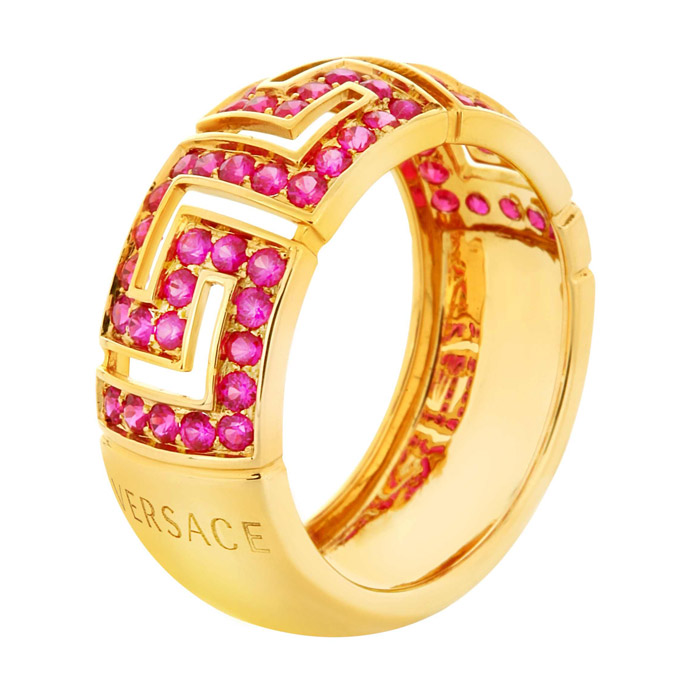 Versace Greca Red Rubies collection