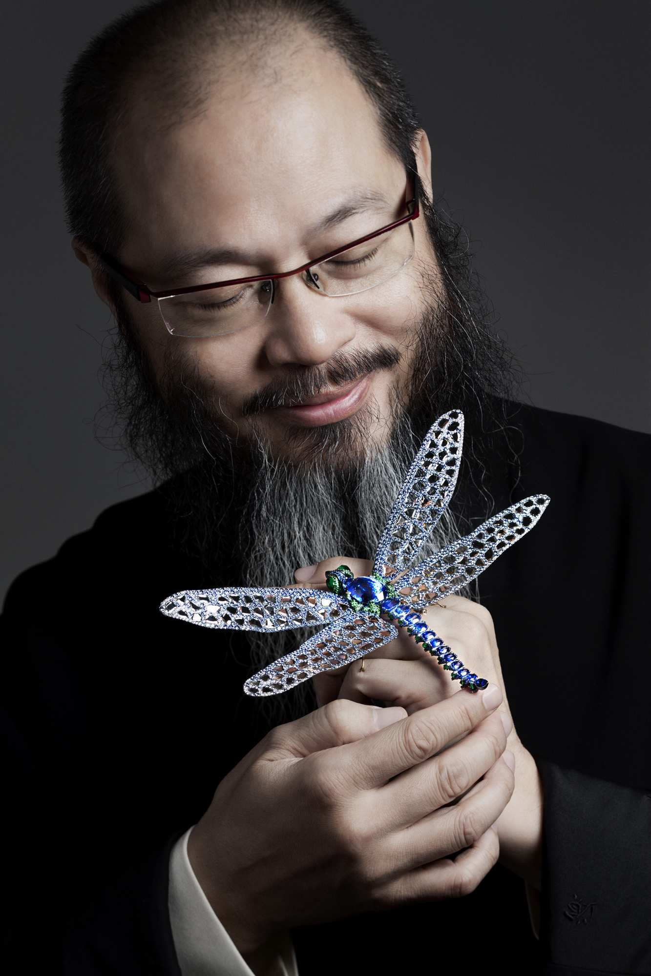 Wallace Chan, the first and only Chinese jeweller who was invited to showcase his one-of-a-kind designs alongside some of the most esteemed houses from the Place Vendome