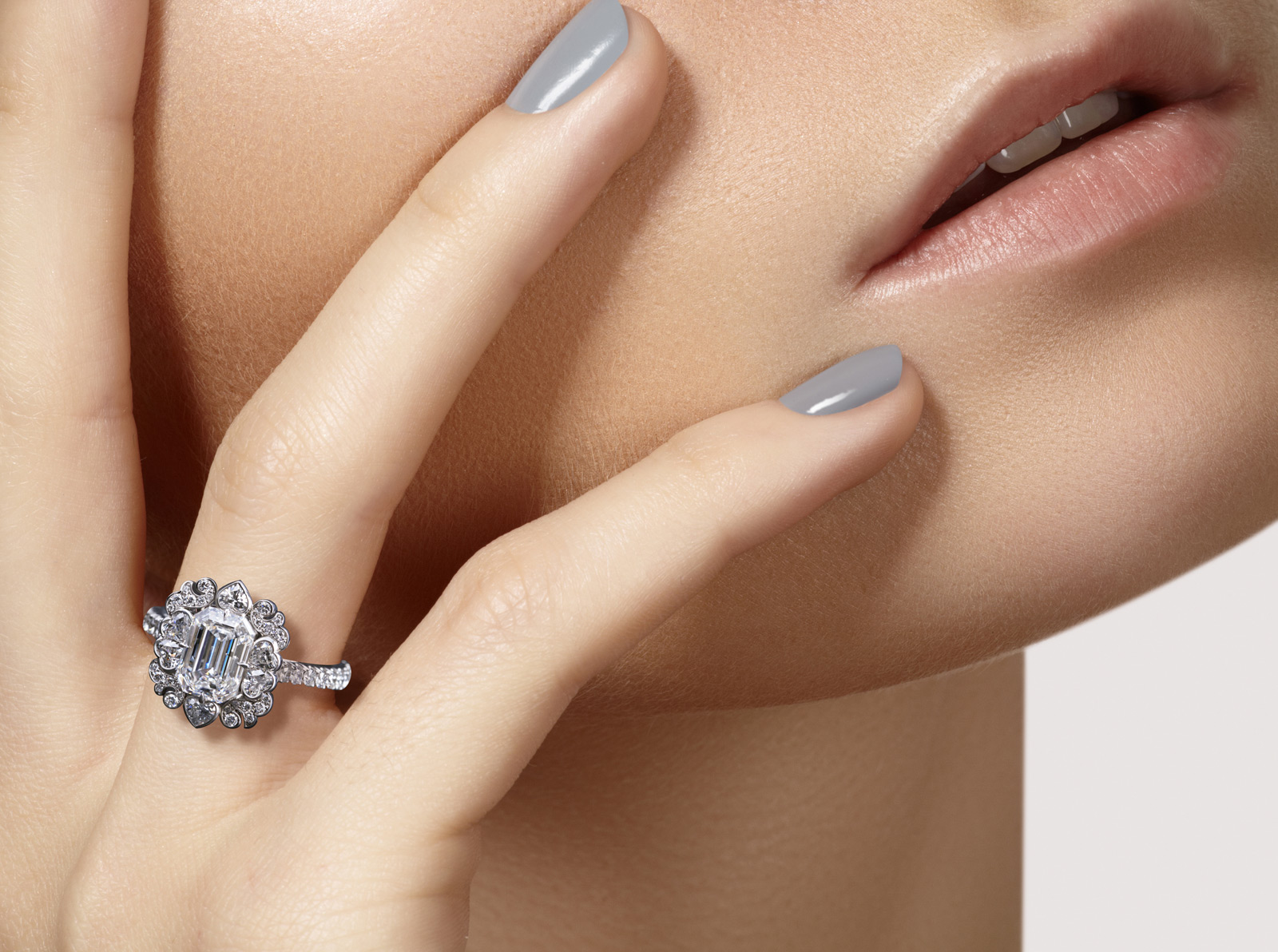 David Michael engagement ring
