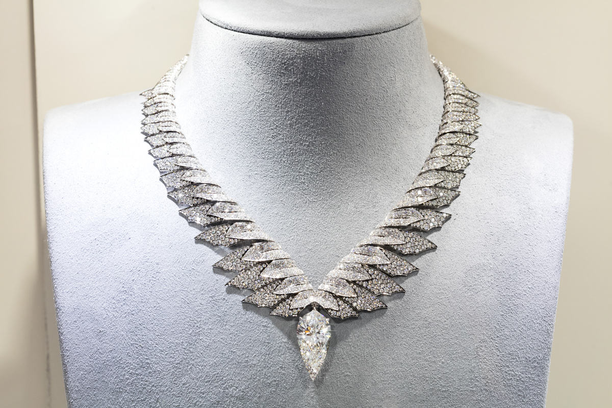 Stephen Webster diamond necklace