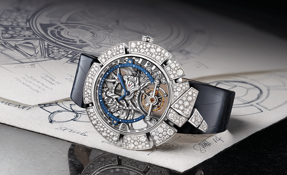 Bulgari's Serpenti Incantati Skeleton Tourbillon