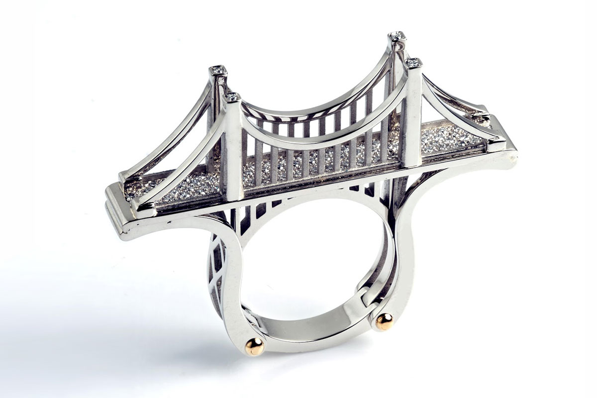 SUSPENSION BRIDGE RING