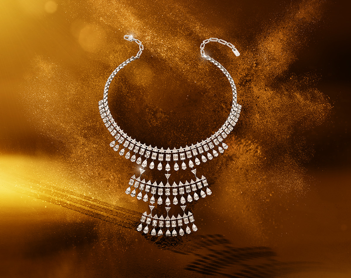 Messika Solena Maya necklace from the Diamants Celestes collection