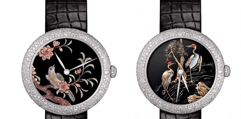 Chanel – Mademoiselle Privé Coromandel Glyptic Watch