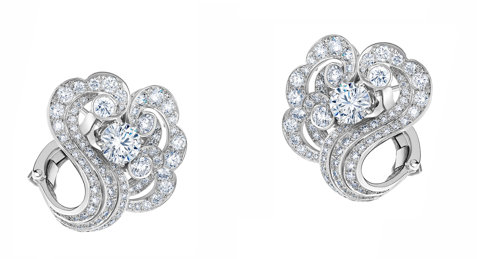 The Sirocco Earrungs From De Beers