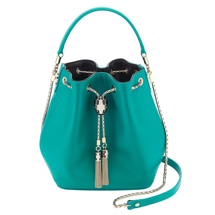 Serpenti Forever bucket bag