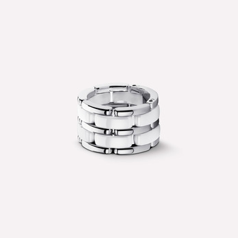 Chanel 'Ultra' ring in ceramic and 18k white gold