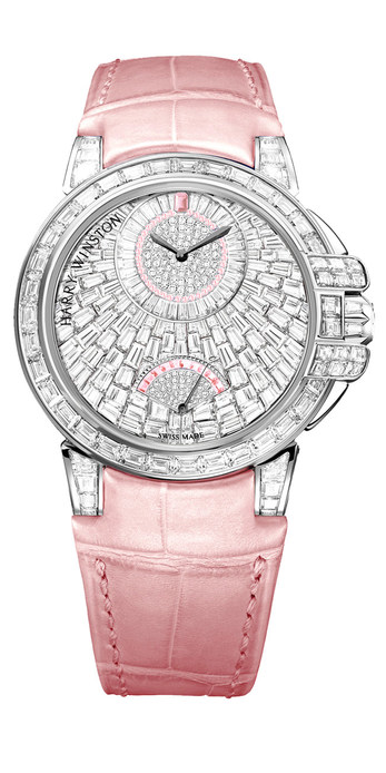 Harry Winston Ocean Waterfall automatic watch 36mm with diamonds
