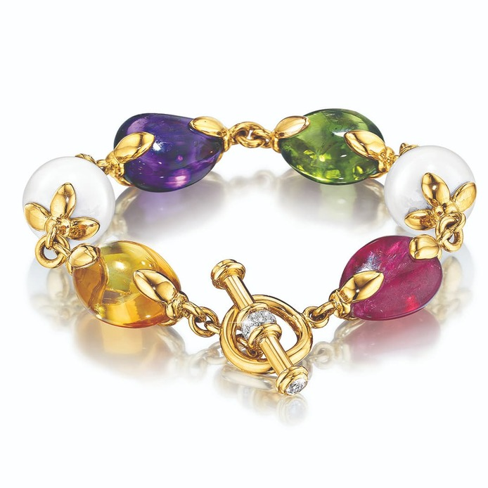 Enormous Colourful Gemstones In Fine Jewellery Design
